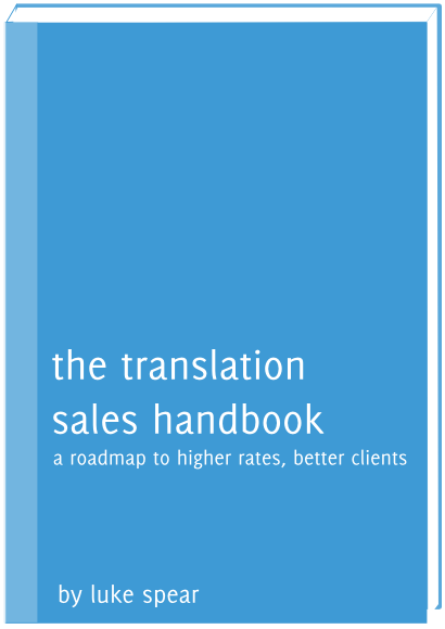 Translation sales business book cover